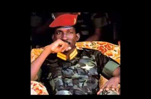 Article : Thomas Sankara : Osez inventer l'avenir